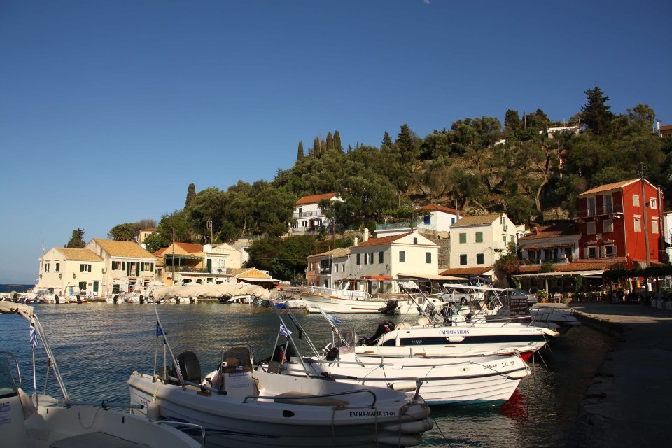 There are a number of pretty villages such as this on Paxos