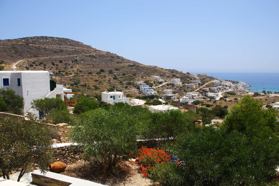 Apartment view on Sikinos (C) Matt Wilson